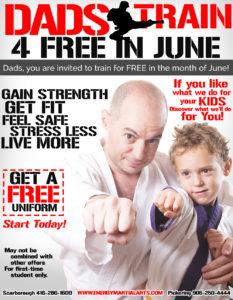 Dads Train Martial Arts